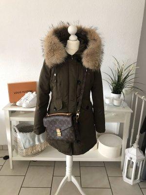 Flam Mode Paris Manteau d'hiver multicolore
