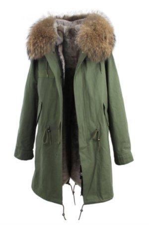 Cappotto invernale cachi