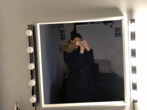 Attentif Veste d'hiver bleu foncé