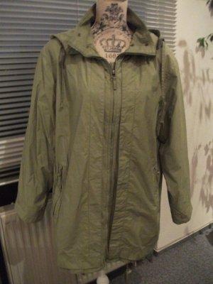 Parka / Outdoor Jacke mit Kapuze, Größe: 38/40, grün, von Gil Bret