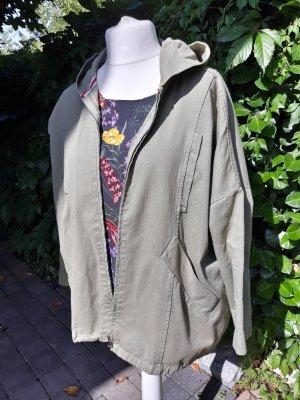 Please Oversized Jacket green grey