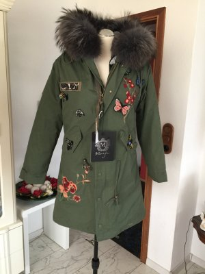Hooded Coat khaki