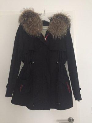 Parka schwarz We Love Furs