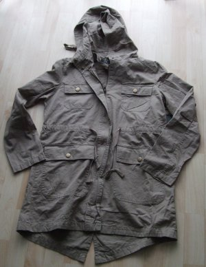 Active USA Parka marrone Cotone
