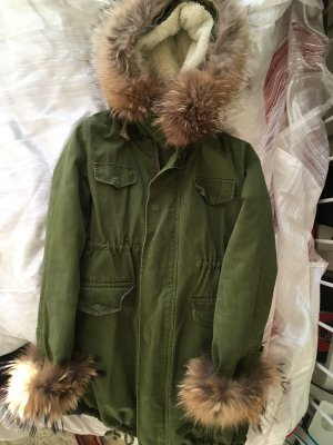 Parka von Chicwish XS, Fake Fur, Teddyfutter