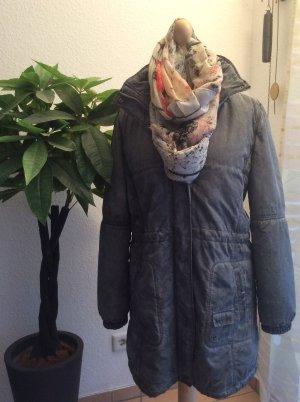 Laura di Sarpi Abrigo de invierno color plata-gris