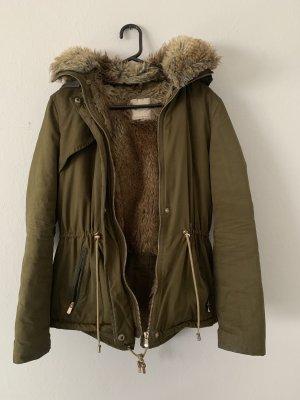 Zara Parka light brown-khaki