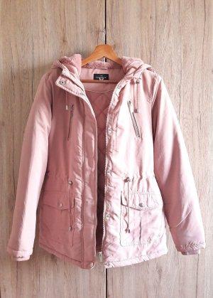 Parka Winter Jacke rosa rosé Gr. 34