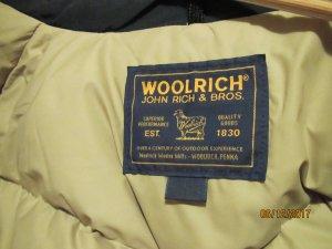Woolrich Abrigo de plumón negro Nailon