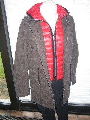Frieda & Freddies New York Manteau à capuche multicolore coton