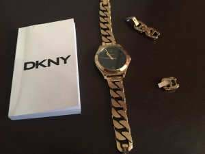 Parsons Semi Matte Watch Gold Black - DKNY