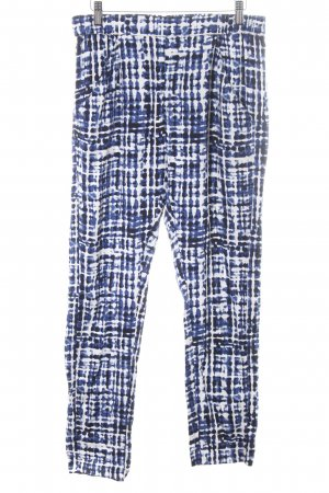 Part two Peg Top Trousers allover print casual look