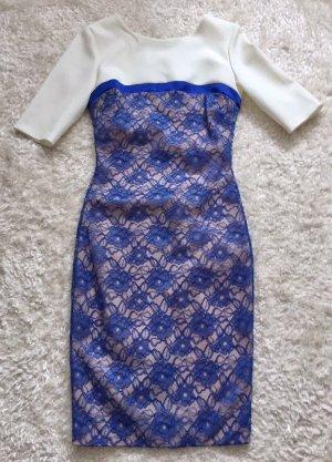 Party Bleistift Kleid kurzarm enganliegend edel von Hybrid Gr. 36 Neu