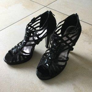 Graceland High-Front Pumps black imitation leather