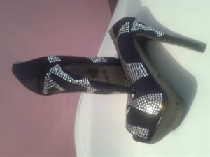 Party Highheels schwarz