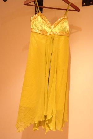 Apart Dress lime yellow