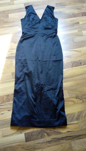 Dolce & Gabbana Robe crayon noir soie