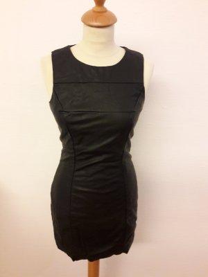 Party Kleid H&M Leder Immitat XS NEU Minikleid