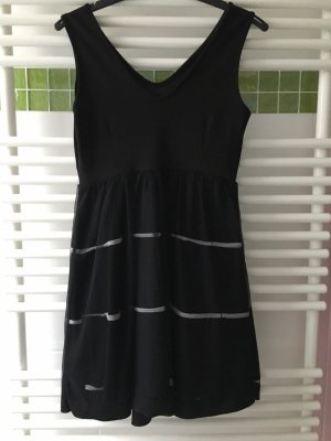 Ball Dress black-white