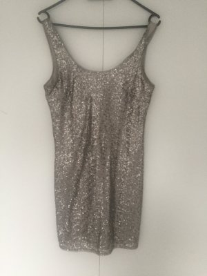 Party Kleid/ Silber/ XS