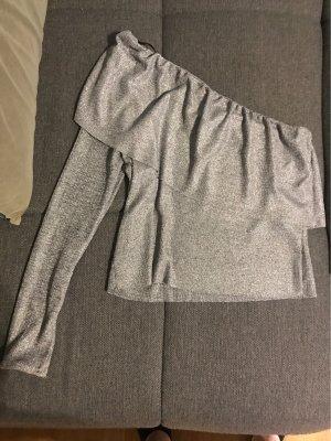 Zara Falda asimétrica color plata