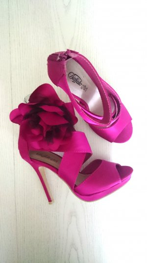 Party Schuhe mit Blume
