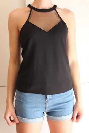 Only Halter Top black polyester