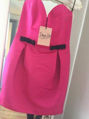 Partydress Hot Pink NEU Topshop