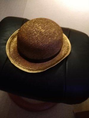 Cappello a bombetta oro