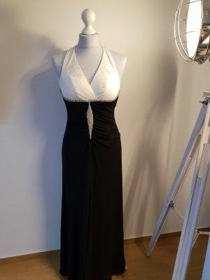 Apart Sequin Dress white-black