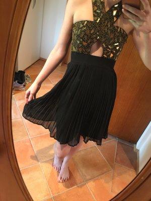 Asos Petite Sequin Dress black-gold-colored