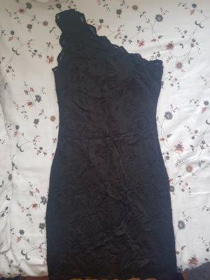 H&M One Shoulder Dress black