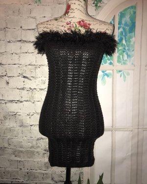 Wind Vestido de tubo negro