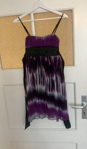 Jennifer Taylor Vestido babydoll violeta oscuro