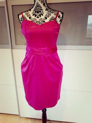 H&M Vestido bustier violeta