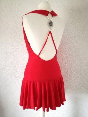 Partykleid Gogo Kleid mit Rückenausschnitt Minikleid