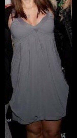 Partykleid in edlem grau