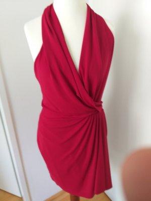 Halter Dress dark red