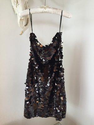 Partykleid komplett aus Pailletten