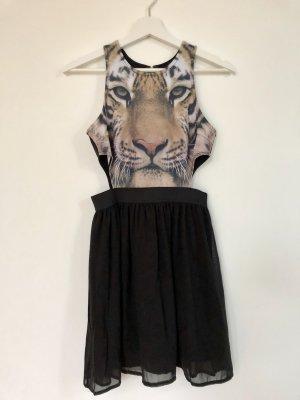 Forever 21 Cut out jurk zwart