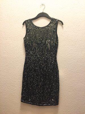 Partykleid mit Pailletten, Gr. S von Lace & Beads