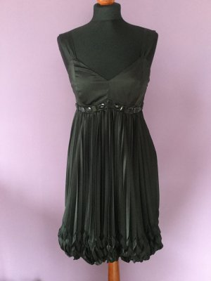 Apart Balloon Dress black mixture fibre