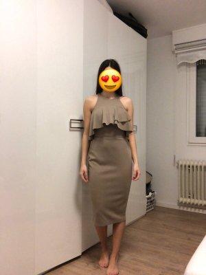Asos Pencil Dress beige-light brown
