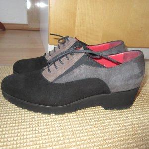 Pas de Rouge by Gritti, Schuhe zum Schnüren , Veloursleder