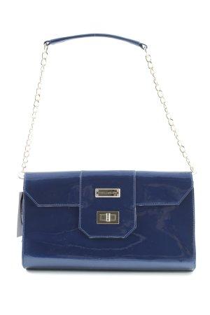 Pascal Morabito Clutch blau klassischer Stil