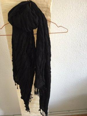 Paschmina Schal schwarz