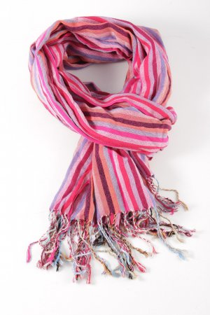 Pashmina Neckerchief striped pattern casual look