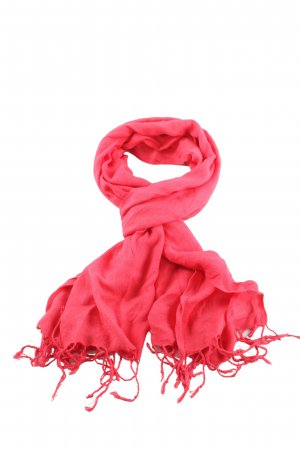 Pashmina Pashmina red casual look