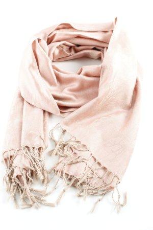 Pashmina Pashmina beige-roze bloemen patroon