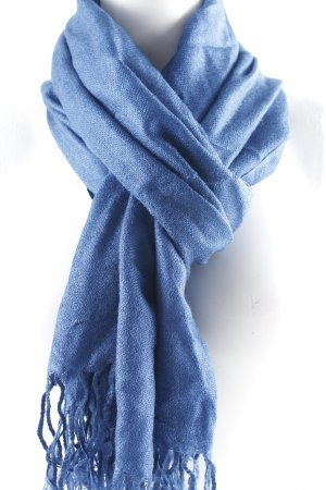Pashmina Pashmina blue casual look